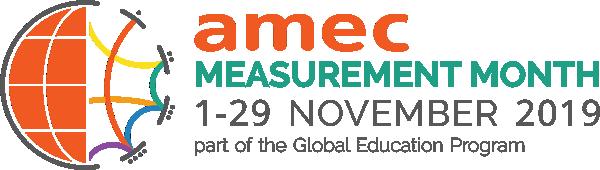 Image result for amec measurement month 2019 logo