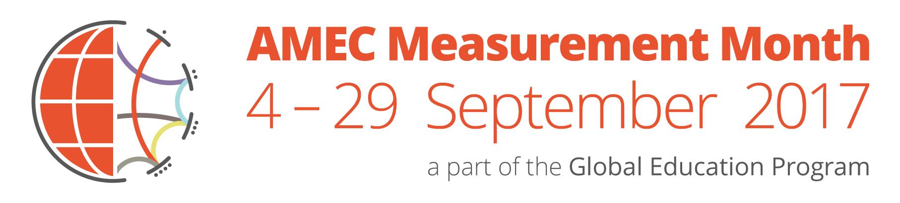 AMEC Measurement Month 2017